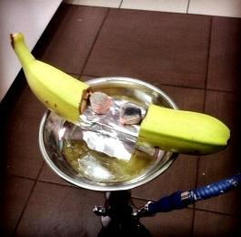 Кальян на банане - крутая тема